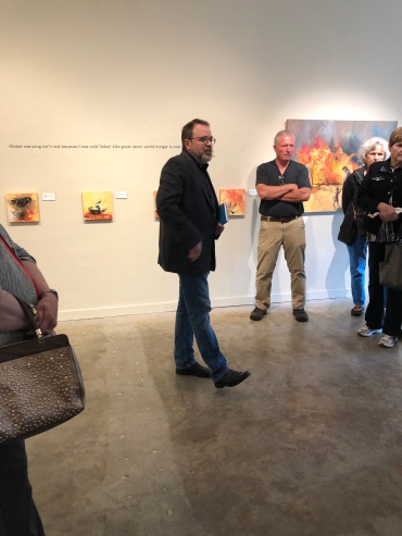 April 2019 Reception Opening with Don Munro