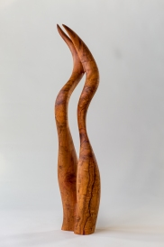 Conjoined - Plum Wood_29 in tall